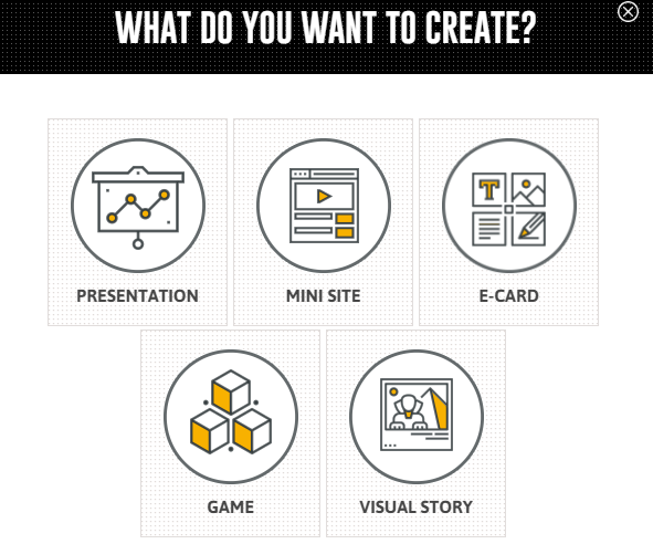emaze-presentation-types